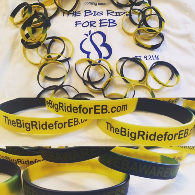 The Big Ride for EB
